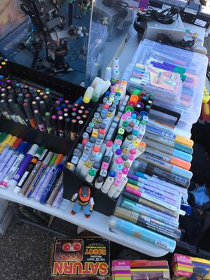 Art supplies at Vineland swapmeet for Sale in East Los Angeles, CA