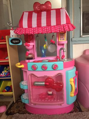 Hello Kitty Kitchen set with extras for Sale in Mililani, HI
