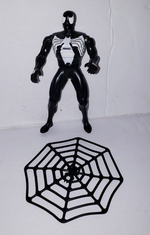 1995 Marvel Spider-Man Animated Series Black Costume Action Figure Toy Biz for Sale in Humble, TX