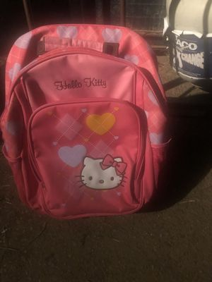 Hello kitty rolling backpack suitcase for Sale in New Hyde Park, NY
