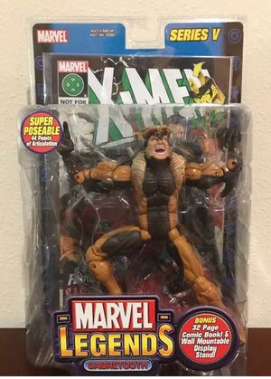 Sabertooth Series V Marvel Legends Collectible Action Figure for Sale in Thonotosassa, FL