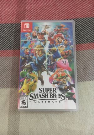 Nintendo Switch: Super Smash Bros. for Sale in Arnold, MD