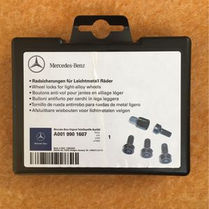 Mercedes-Benz Wheel locks for light-alloy Wheels for Sale in Springfield, VA