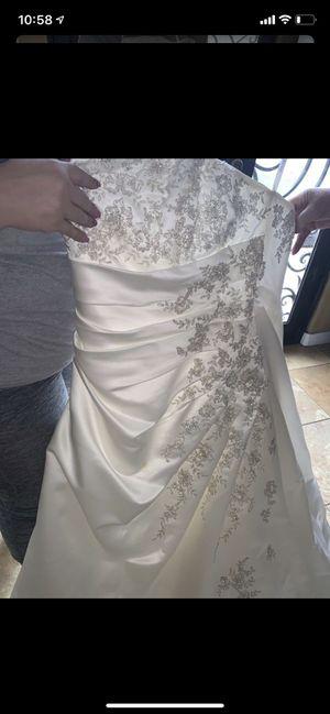 David's bridal wedding dress for Sale in Rancho Cucamonga, CA