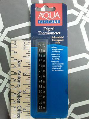 Aquarium thermometer strip for Sale in San Antonio, TX