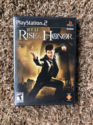 PS2 Jet Li Rise to Honor for Sale in Ontario, OR