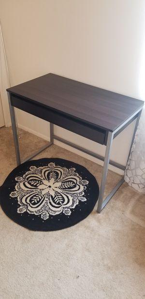 Dark brown study desk for Sale in Parkville, MD