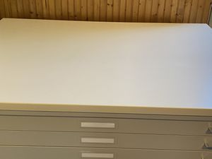 Mayline C-line engineer file cabinet 2 set of 5 draw. Like new!!! Laminate top. for Sale in Taunton, MA