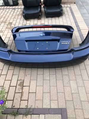 Subaru Legacy Gt rear bumper for Sale in Melrose Park, IL