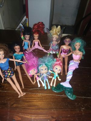 Brand New. 10 barbies .All Ten (10) Alltogether $25.00 DOLLARS O.B.O REMARKABLE PRICE for Sale in Columbus, OH