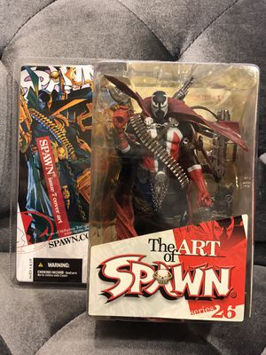 McFarlane 2004 THE ART OF SPAWN Series 26 Issue #7 cover Action Figure qq for Sale in Fresno, CA
