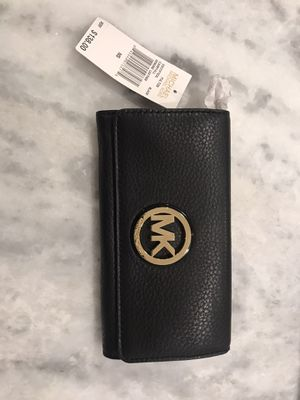 BRAND NEW! Michael Kors Black Wallet for Sale in McDonald, PA
