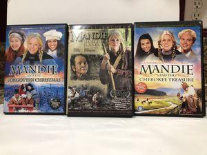 Three Mandie DVD Movies for Sale in Fair Oaks, CA