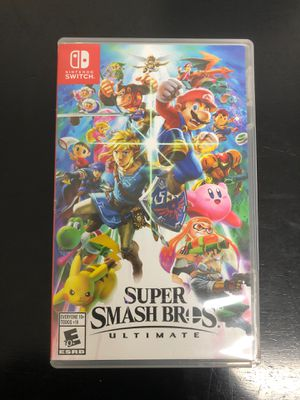 Super smash bro's ultimate Nintendo switch for Sale in Hialeah, FL