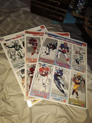 McDonalds Limited Edition 1993 GAMEDAY COLLECTORS CARDS for Sale in Cohasset, CA