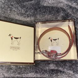 Coach Dog Collar Red Extra Small for Sale in San Jose,  CA