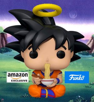 Dragonball Goku Eating Noodles Funko pop for Sale in Moreno Valley, CA
