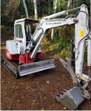 Mini Excavator- 8,300 lbs for Sale in SeaTac, WA