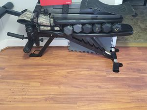 Work bench, abb bench. 50 pound vest. for Sale in Cumberland, RI