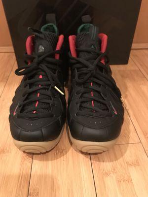 Nike foamposite pro black Gucci for Sale in Seattle, WA