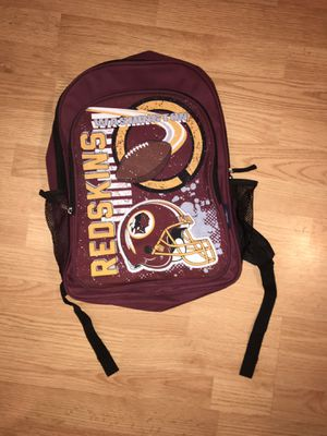 Official Redskins Merch Book Bag for Sale in Fort Washington, MD