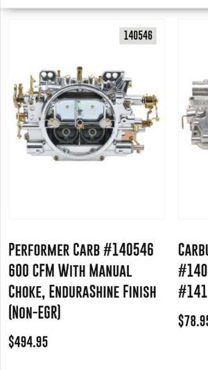 Edelbrock 1405 carburetor brand new with electric choke for Sale in Huntington Beach, CA