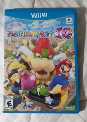 Mario Party 10 Wii U video game for Sale in Shavano Park, TX