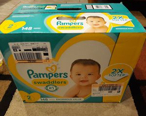 Pampers diapers size 2 👶 (148 count) Box unopened (Offers will be ignored) ‼Caja nueva de Pampers Size 2 👉Recoger en Vallejo👈 for Sale in Vallejo, CA