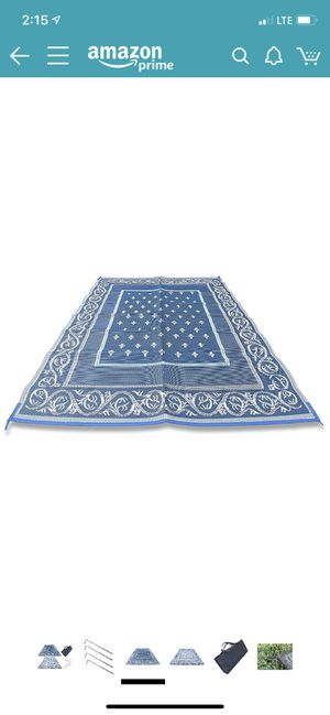 Outdoor Rugs 9'x12' multi color for Sale in St. Petersburg, FL