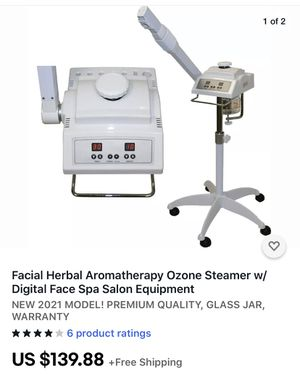Facial steamer with digital display, new for Sale in Ontario, CA