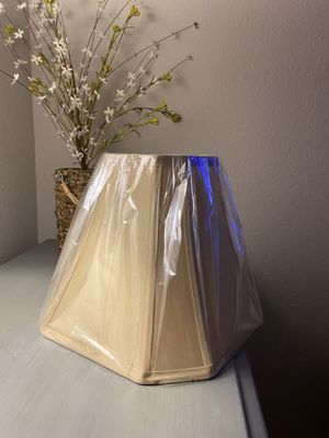 Beige Lampshade for Sale in West Covina, CA