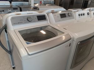 LG set washer and dryer electric good condition 90 days warranty for Sale in Mount Rainier, MD