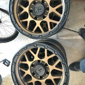 (4) KMC 17x8.5 6 Lug Wheels for Sale in Issaquah, WA