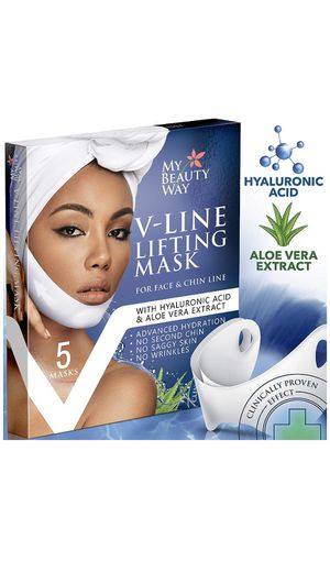V Line Mask Chin Up Patch Double Chin Reducer Chin Mask V Up Contour Tightening Firming Face Lift Tape Neck Mask V-Line Lifting Patches V Shaped Slim for Sale in Charlotte, NC