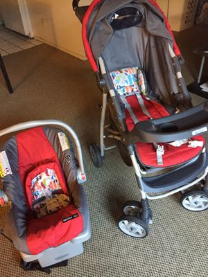 Baby stroller with car seat for Sale in Sunnyvale, CA