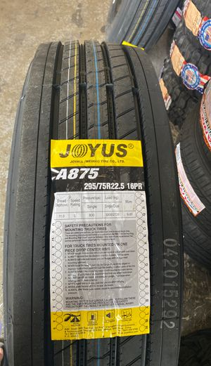 295/75/22.5 16-ply BRAND NEW COMMERICIAL TRAILER TIRES FOR SALE ☎️ TXT OR CALL FOR A QUOTE for Sale in Sacramento, CA