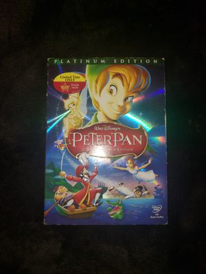Peter pan platinum edition collector's in box original wrapping for Sale in Phoenix, AZ