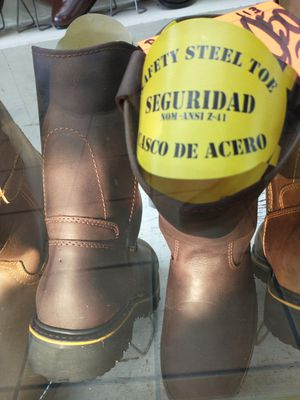 Steel Toe leather work boots for Sale in Montgomery, TX