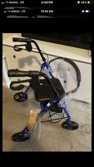 New walker with wheels, storage underneath holds 300 pounds for Sale in Washington, DC