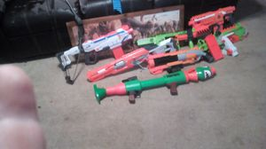 LG phone bow and Nerf guns arrows for Sale in Crosby, TX