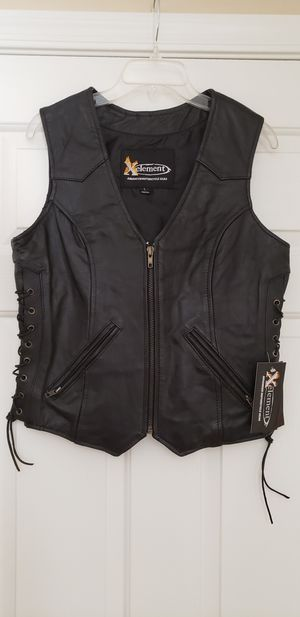 X Element Leather Vest for Sale in Las Vegas, NV