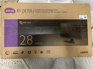 Ben Q EL2870U Series LED Backlight Monitor for Sale in Miami, FL