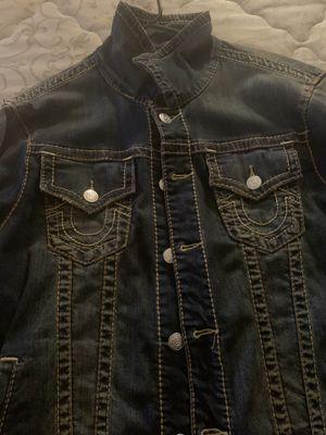 True religion jean jacket for Sale in Washington, DC