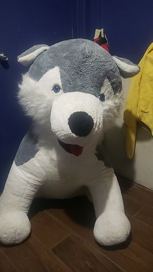 Big husky plushies for Sale in Pompano Beach, FL