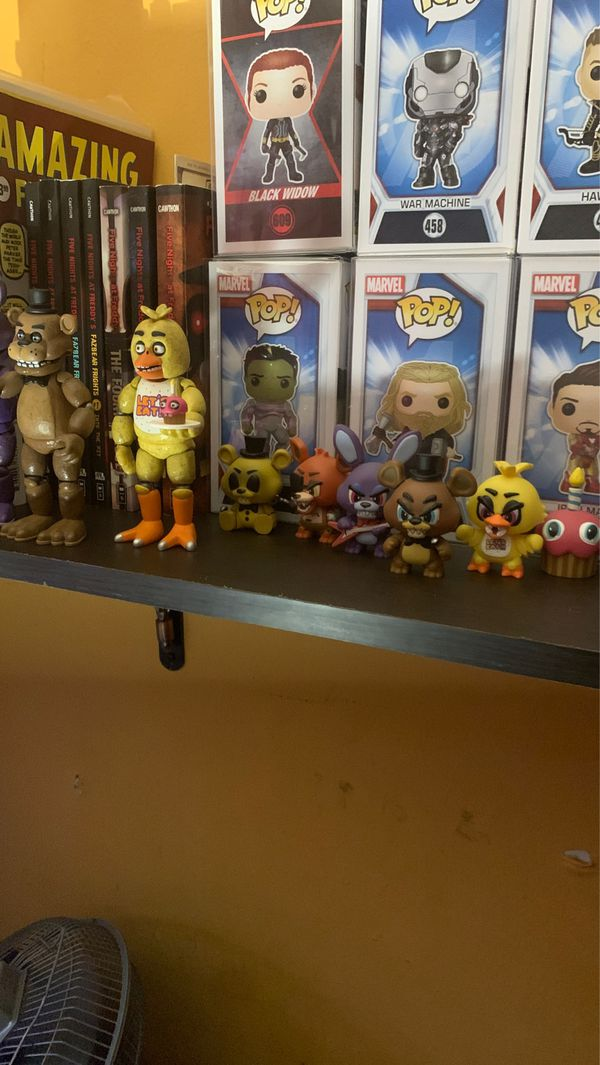 fnaf (five nights at freddy's) and any pop