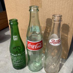 Vintage Glass bottles for Sale in Houston, TX