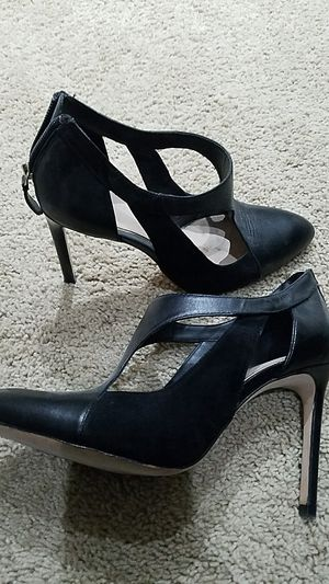 Zara black leather shoes . Size 39 for Sale in Castro Valley, CA