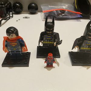 3 NOT LEGO Jumbo LEGO Style Minifigures for Sale in Venice, FL