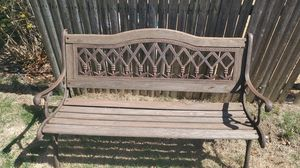 Cast Iron Bench for Sale in East Northport, NY