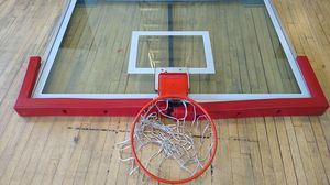 NBA glass backboard and basketball hoop for Sale in New York, NY